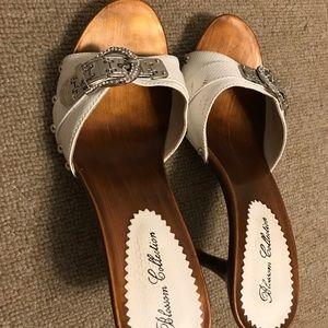 White High Heels (7 1/2 size)